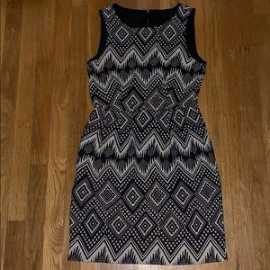 J.Crew tribal print dress